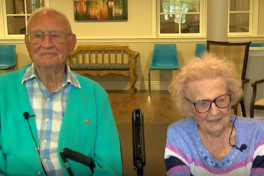 Couple Marries at 100
